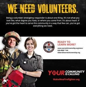 WESC Volunteer Poster