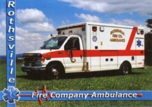 2001 Ford Model E Series ambulance